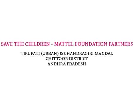 Mattel save the children